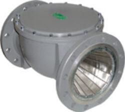 Plynový filtr ARMAGAS, DN-200, PN -16.-Přírubové připojení  PN-16 ,DN-200, (max.tlak: 3 bar) ,filtrační schopnost 55MY.