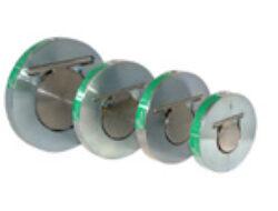 Bezpřírubová zpětná klapka BZK (ST), DN-100,PN-16.-Mezipřírubové připojení PN-16 ,DN-100, ( pracovní přetlak ST : 5-300 kPa) .