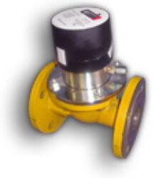 RTPE G 65-Turbínový plynoměr, přírubový.  Qmin=5m3/h,Qmax=100m3/h, DN 50, PN 5bar  MID schválení, možno používat pro fakturační měření.