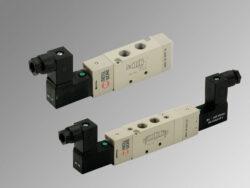 MSV 25 SES 00 24VDC-5/2 elektropneumatický ventil G1/8 monostabil, 24V DC,  0,10 bar, bez konektoru
