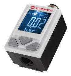 50D pneumatický                                                                 -Tlakový spínač 50D, 0...10bar, 2xPNP, G1/4, napájení 24V DC  médium stlačený vzduch filtrovaný  40MY,mazaný a nemazaný