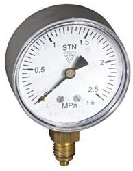 03304 - P-Standardní tlakoměr se spodním přípojem. 03304 - P  M12x1,5