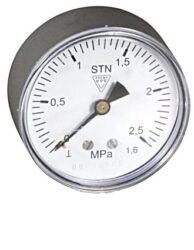 03358 - P                                                                       -Standardní tlakoměr se zadním přípojem. 03358 - P M12x1,5