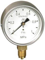 03312 - S                                                                       -Standardní tlakoměr se spodním přípojem. 03312 - S M20x1,5