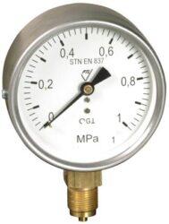 13312 - S-Standardní tlakoměr se spodním přípojem. 13312 - S M20x1,5