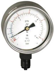 53332                                                                           -Standardní tlakoměr se spodním přípojem. 53332 M20x1,5