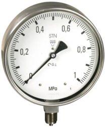 13313 - CHV-Celonerezový tlakoměr se spodním přípojem (vodotěsný). 13313 - CHV  M20x1,5