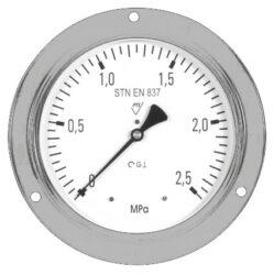 03323 - S-Standardní tlakoměr se zadním přípojem a volitelně s přední přírubou. 03323 -S  M20x1,5