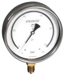 03402 - E-Kontrolní tlakoměr se spodním přípojem. 03402-E  M20x1,5