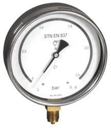 03403 - E-Etalonový tlakoměr se spodním přípojem. 03403 - E M20x1,5