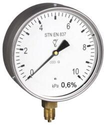 23388-Membránový tlakoměr s krabicovou membránou a spodním přípojem. 23388  M20x1,5