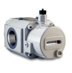 RVG/DKZ-ST G 10                                                                 -Rotační pístový plynoměr.  Qmin=0,8m3/h,Qmax=16m3/h, DN 40, PN 16bar (provedení přírubové nebo závitové)