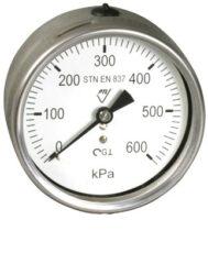 03384 - CHG-Celonerezový, glycerinový tlakoměr se spodním přípojem. 03384 - CHG  G1/2
