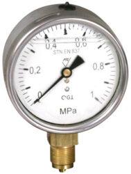 03312 - G-Glycerinový tlakoměr se spodním přípojem. 03312 - G   M20x1,5