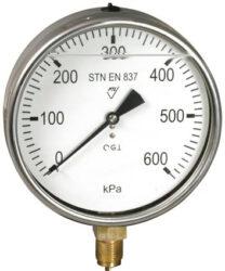 03313 - G                                                                       -Glycerinový tlakoměr se spodním přípojem. 03313 - G 0-10Mpa M20x1,5