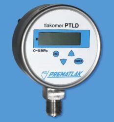 Elektronický tlakoměr PTLD-Digitální tlakoměr se spodním přípojem PTLD
