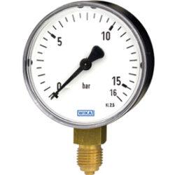 111.10.100-Standardní tlakoměr se spodním přípojem 111.10.100 M20x1,5