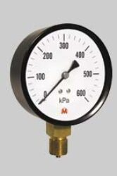 MI100S/113/1,6-Standardní tlakoměr se spodním přípojem. MI100S/113/1,6