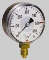 MM40S/172/1,6-Standardní tlakoměr se zadním přípojem. MM40S/172/1,6