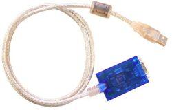 kabel UCAB - převodník USB - RS232-Převodník USB - RS232 se používá pro připojení DATREZU s výstupem na sběrnici RS 232 pomocí COM konektoru a umožňuje připojit DATREZ do konektoru USB.