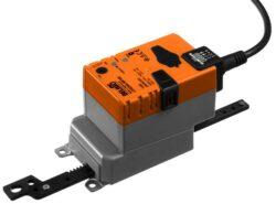 LHQ..A; SHQ..A-Lineární pohony se super rychlým chodem  typové řady LHQ...A (3,5 s./ 100mm.)  a  SHQ...A (7s./100mm.) s připojovacím kabelem pro klapky a šoupata pro velmi rychlé doby přestavení do 3,5 s. / 100 mm .Ovládací napětí 24V AC/DC.
