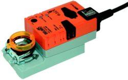 LM..A, NM..A, SM..A-Retrofitní pohony LM..A (5 Nm), NM..A (10 Nm), SM..A (20 Nm) se svorkami pro klapky do cca 1m2, (2m2), (4m2), univerzální třmen 6..20 mm, (8..26 mm), (10..20 mm), parametrované pohony.