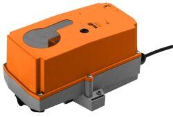 NM..P, SM..P-Robustline NM..P (8 Nm) a SM..P (18 Nm) s připojovacím kabelem pro klapky do cca 1.6m2 (3.6m2) univerzální třmen 10...20mm (14..20mm), zejména pro nasazení ve ztížených provozních podmínkách.