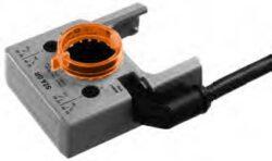 S1A, S2A-Pomocný spínač nasaditelný pro servopohony Belimo typové řady S1A (1xEPU), S2A (2xEPU), nastavitelný spínací bod 0-100%.