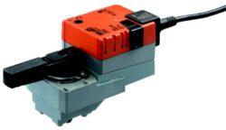 LR / LRD24A--MP-MP-Bus pohony pro regulační kulové kohouty, spojité - typové řady LR / LRD24A--MP.