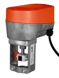 NVF24LON / -E+UNV-002-LonWorks pohony pro zdvihové ventily firmy Belimo, spojité s havarijní funkcí - typová řada NVF24LON / -E+UNV-002.