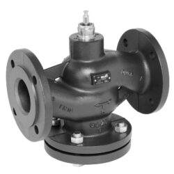 Přírubový PN 16, DN 15-150 - s havarijní funkcí-Přírubový ventil PN 16 do 120°C; 150°C, DN 15-150 se servopohonem Belimo, typová řada: NVF... AC/DC 24 V.