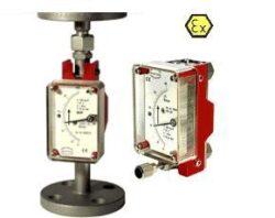 KDS / BGK-Celokovový průtokoměr /-spínač pro proměnlivá množství typové řady KDS/BGK. Plováčkový.