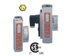 SMV-Průtokoměr / - spínač pro proměnlivá množství typové řady SMV. Plováčkový - celokovový.