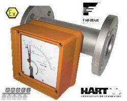 BGF-Průtokoměr /- spínač pro proměnlivá množství typové řady BGF. Plováčkový - celokovový - nezávislá montážní poloha.