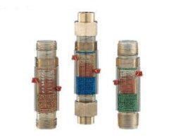 VKP-Průtokoměr / -spínač s kompenzací viskozity typové řady VKP. Plastový.