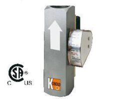 VKA-Průtokoměr / -spínač s kompenzací viskozity typové řady VKA. Celokovový.