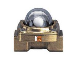 DKB-Indikátor průtoku s kuličkou typové řady DKB.