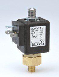 XD2NO-2/2 elektromagnetický ventil  DN2, 230V AC, G1/8, 0-12bar,NO,Tmax.130°C konektor není součástí balení ventilu