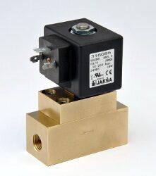 XBS2NO-2/2 elektromagnetický ventil  DN5, 230V DC, G1/4, 10-200 bar,NO,Tmax.75°C konektor není součástí balení ventilu