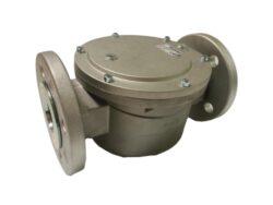 Filtr plynový FG4- A/FLF40, DN40-přírubové připojení PN16, Pmax.6bar, filtrační vložka PPR tkanina 5µm, medium-zemní plyn,vzduch. Filtry typu FG jsou vyráběny v souladu s normami DIN 3386.